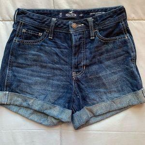 Hollister high waisted jean shorts NWOT